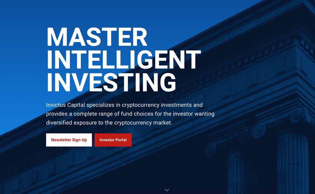 Invictus Capital Website