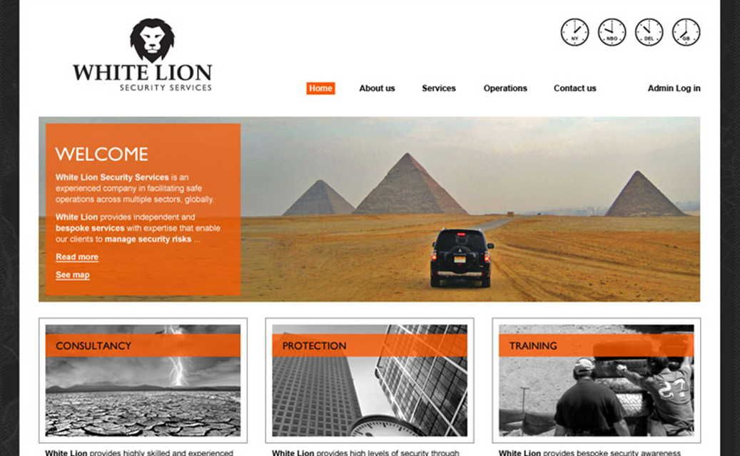 White Lion Website