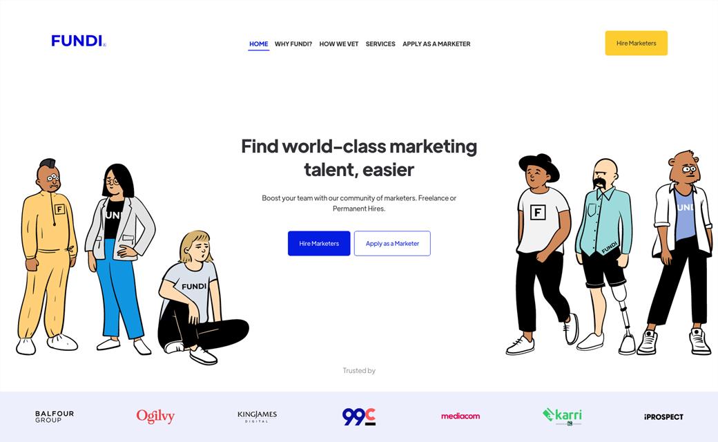 Fundi Digital Website